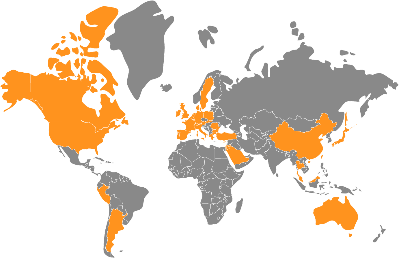 Select your country to find your nearest dealer